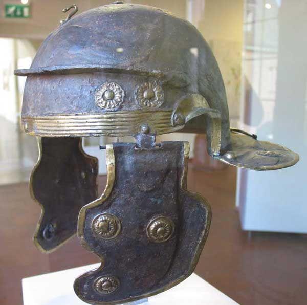 Romans in Britain - The Roman Soldier's Helmet - Galea