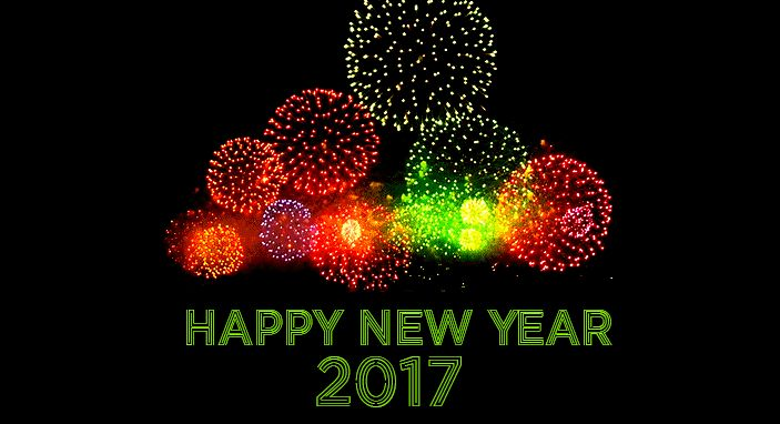 Happy New Year 2017 GIF Images for Facebook