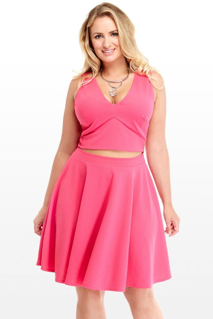 Cutout Flare Dress