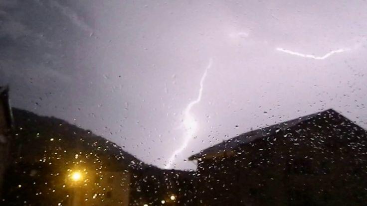 Lightning Strikes - Weekend big storm
