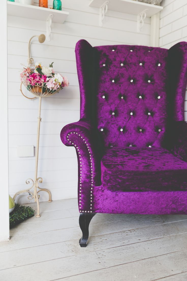 2017 is the year of jewel tones; think emerald and amethyst. Reupholstering an old, tired sofa or armchair with a jewel toned fabric can breathe life into any room #jeweltones #upholstery #hitrends