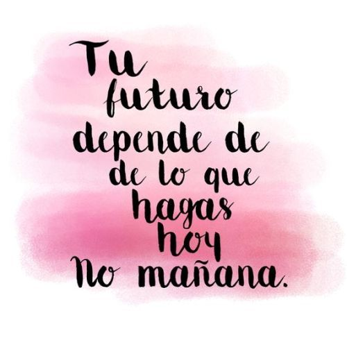 The site is about inspiration. Positive Phrases, Motivational Phrases, Positive Vibes, Positive Quotes, Spanish Inspirational Quotes, Spanish Quotes, Frases Tumblr, Tumblr Quotes, The Words