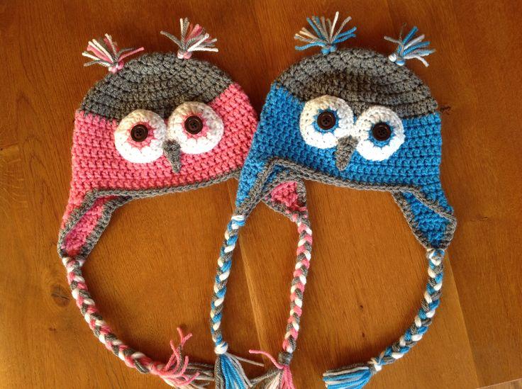 Babykamer Tweeling Ideeen : Uilenmutsen voor tweeling joey en esmee ...