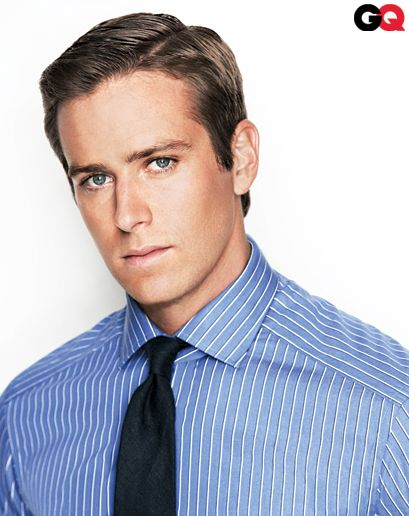 Armie Hammer is rather handsome. I remember when he was on Gossip Girl, per social network.