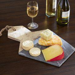 Slate and Wood Cheese Board