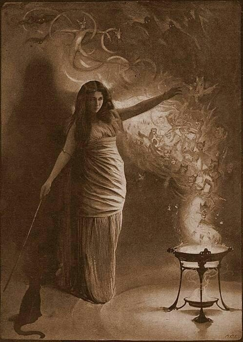 How do Lady Macbeth's actions compare to the witches in Macbeth?