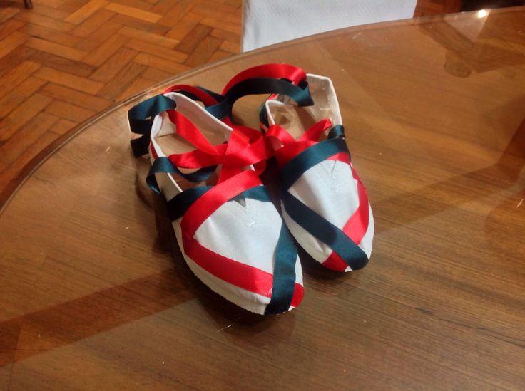 Zapatillas para el baile vasco.