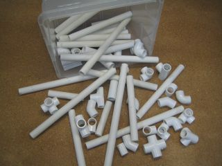 All sorts of cool things you can do with PVC pipe... I'm going to make a tomato stake, but there are all sorts of cool projects.