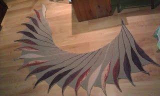 Pchły Szachrajki: Dreambird shawl- Ptaszyna