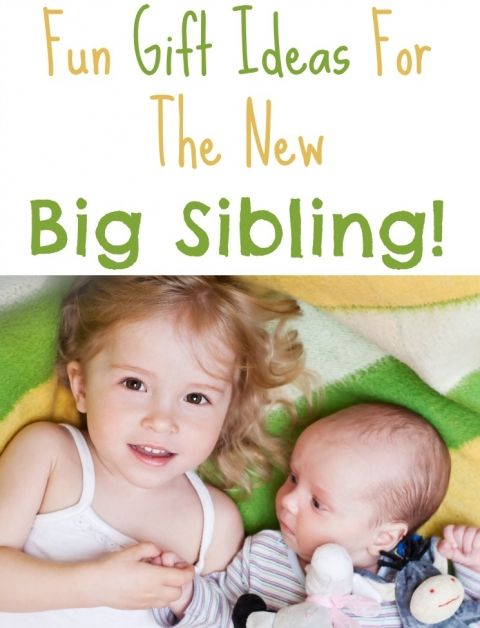 gift ideas for the new big sibling