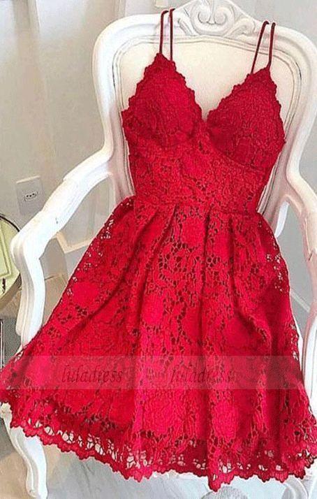 #BW97079 #Heimkehrkleid #Kleid #kurzes #mit #Rotes