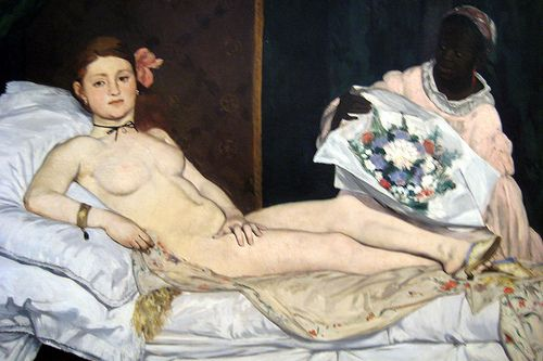 Edouard Manet - Olympia, 1863, musée d'Orsay