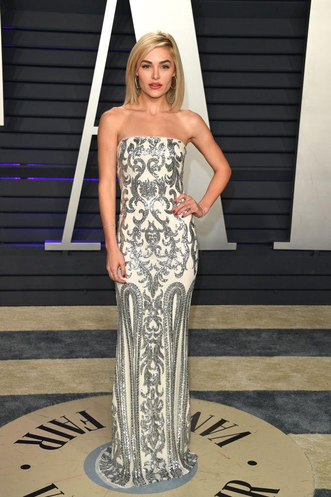 Michelle Randolph Attends 2019 Vanity Fair Oscar Party Hosted By Vanity Fair Oscar Party Vanity Fair Hollywood Girls