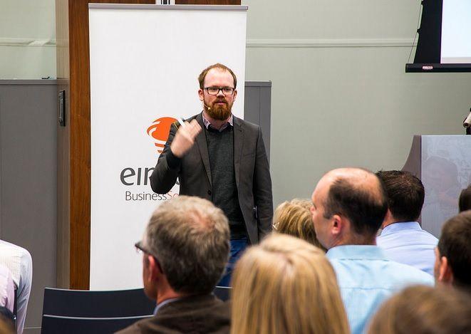 Eircom Spiders Digital Workshop - Guest Speaker Bill Fitzgerald, Lead Designer - Continuum
