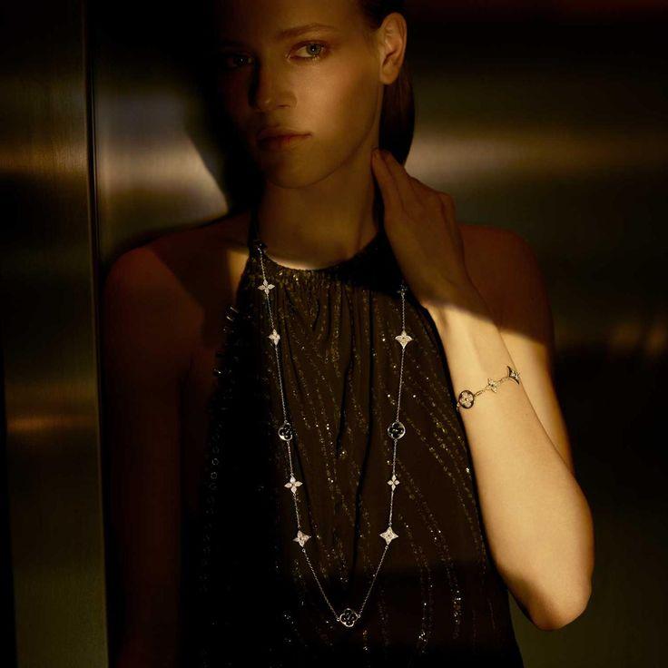 Новая ювелирная коллекция «Blossom» от Louis Vuitton усыпана бриллиантовой росой