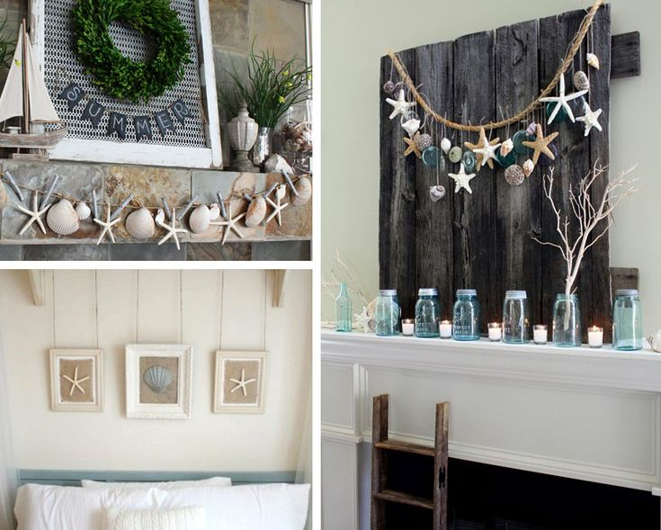Decorazione con le conchiglie: decorazioni da appendere