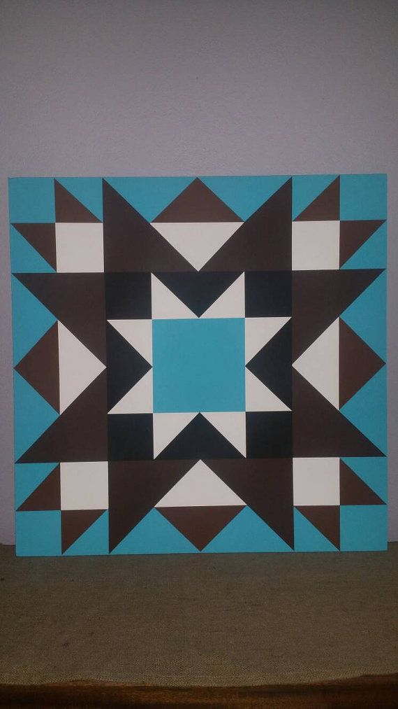 Barn Quilt by 3PerfectPeasInAPod on Etsy