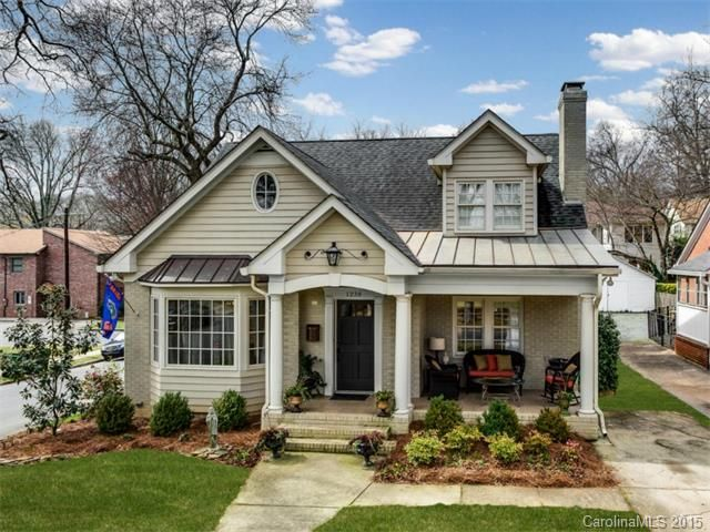Renovated Bungalow In Historic Dilworth Painted Brick