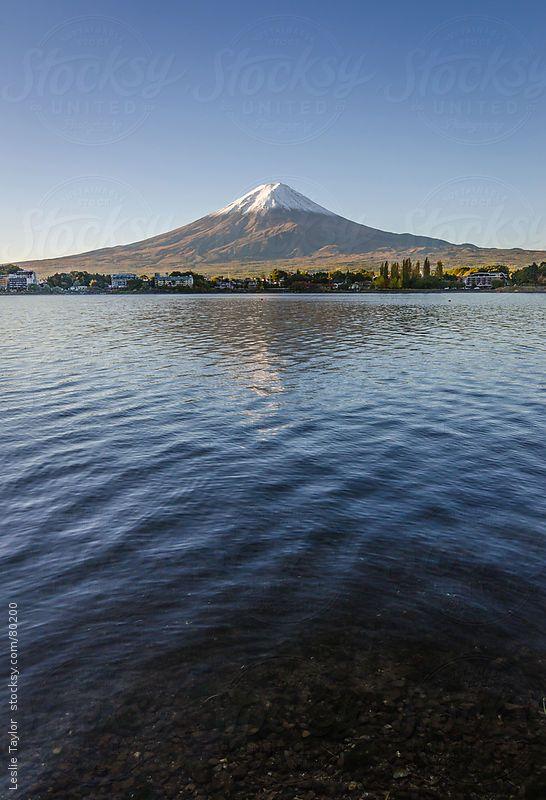 Mt. Fuji, Japan: photo by Leslie Taylor