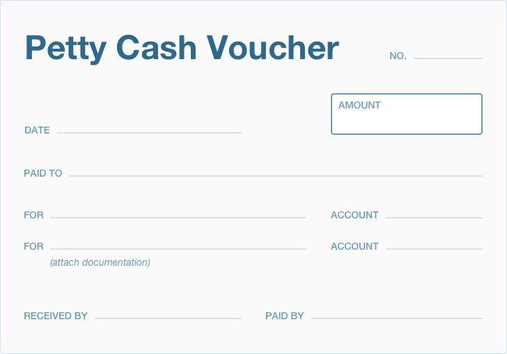 What Is A Petty Cash Voucher Accountingcoach Invoice Design Cash Voucher
