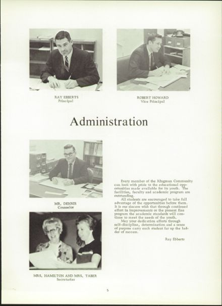 1970 Kingman High School Yearbook Page 9