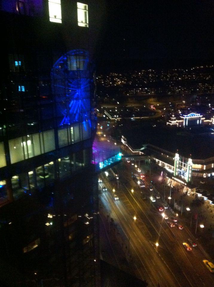 Christmas light over Gothenburg 2014