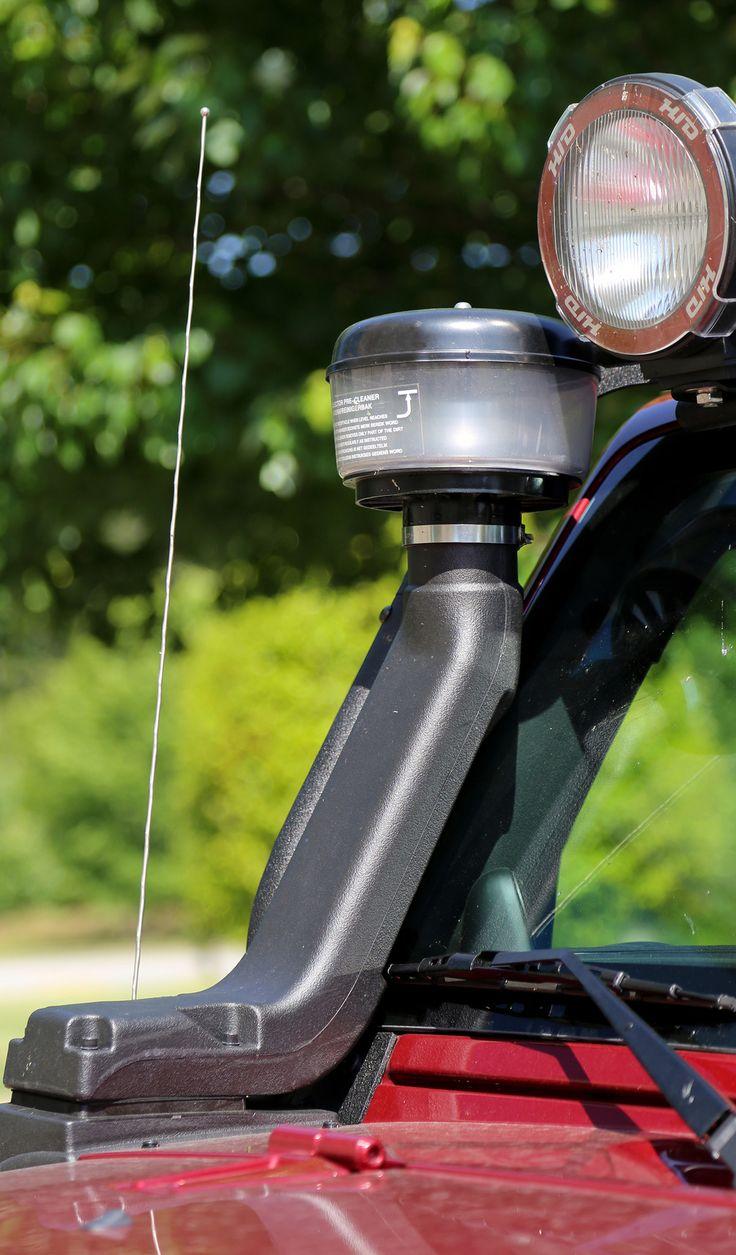 XHD Snorkel with Pre-Filter, 3.6L/3.8L; 07-16 Jeep Wrangler JK