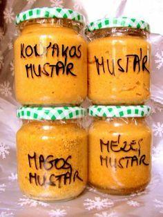 Making homemade flavored mustard - Izesitett mustar keszites otthon