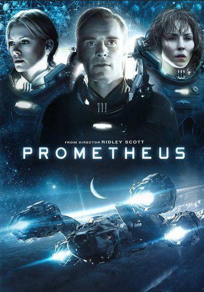 Prometheus - é um filme de 2012 dirigido por Ridley Scott, escrito por John Spaihts e Damon Lindelof, e estrelado por Noomi Rapace.