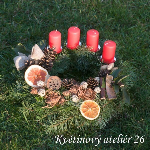fotogalerie – Květinový Ateliér 26 #advent #wreath #red #czechrepublic #classics