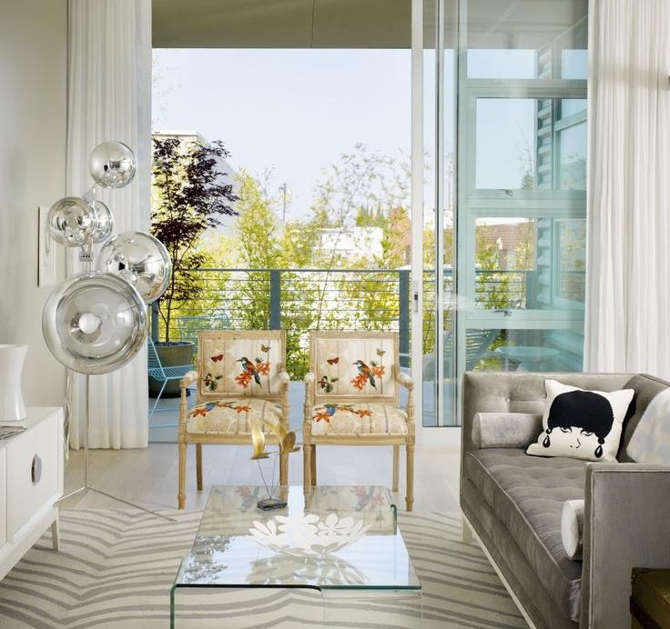 Light & Open Living Room