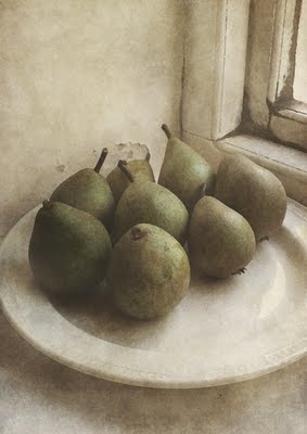 Sarah Jarrett (I never knew pears could look so frightened!)