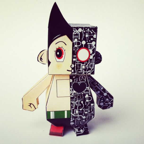 Paper Toy Astroboy