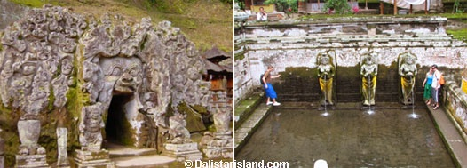 Gua Gajah, Elephant Cave, Places of Interest in Bali