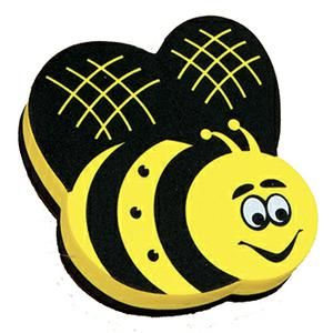 Magnetic Whiteboard Eraser Bee