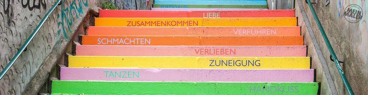 Die Holsteiner Treppe in Wuppertal