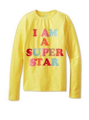 64% OFF Room 7 Girl's 2-6X Tata T-Shirt (Yellow/White Star)