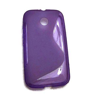 Pink Gel Case for Motorola Moto G - S Line in Cell Phones & Accessories | eBay
