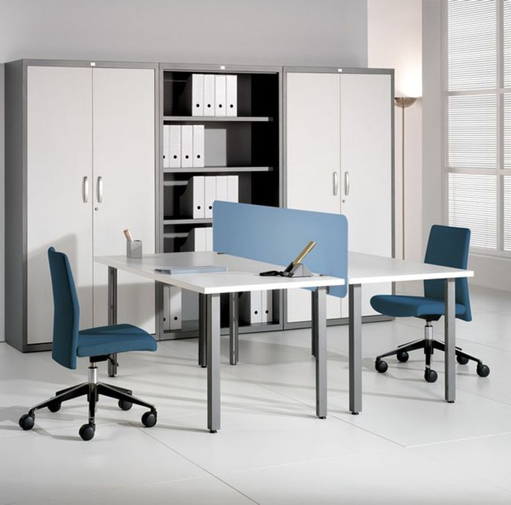 house ideasmodern two person desk home office with low back office chair and blue plastic table barrier also flex rollable vinyl flooringtwo person desk