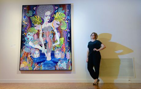 Rockhampton Art Gallery curator Diana Warnes talks about the upcoming Art and Alzheimers training workshop which will show how art tours and activities can help dementia sufferers. Photo: Chris Ison / The Morning Bulletin