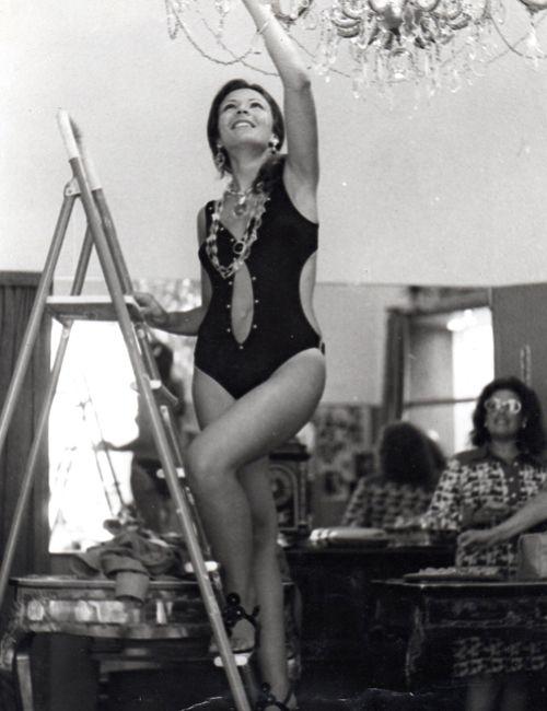La Campanina Archives: Fashion photo shoot at La Campanina