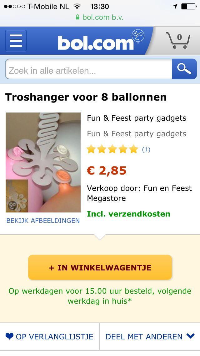 Tros balonnen