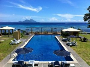 Rapopo Plantation Resort is a great base for discovering the WW2 wreck dives at Rabaul.