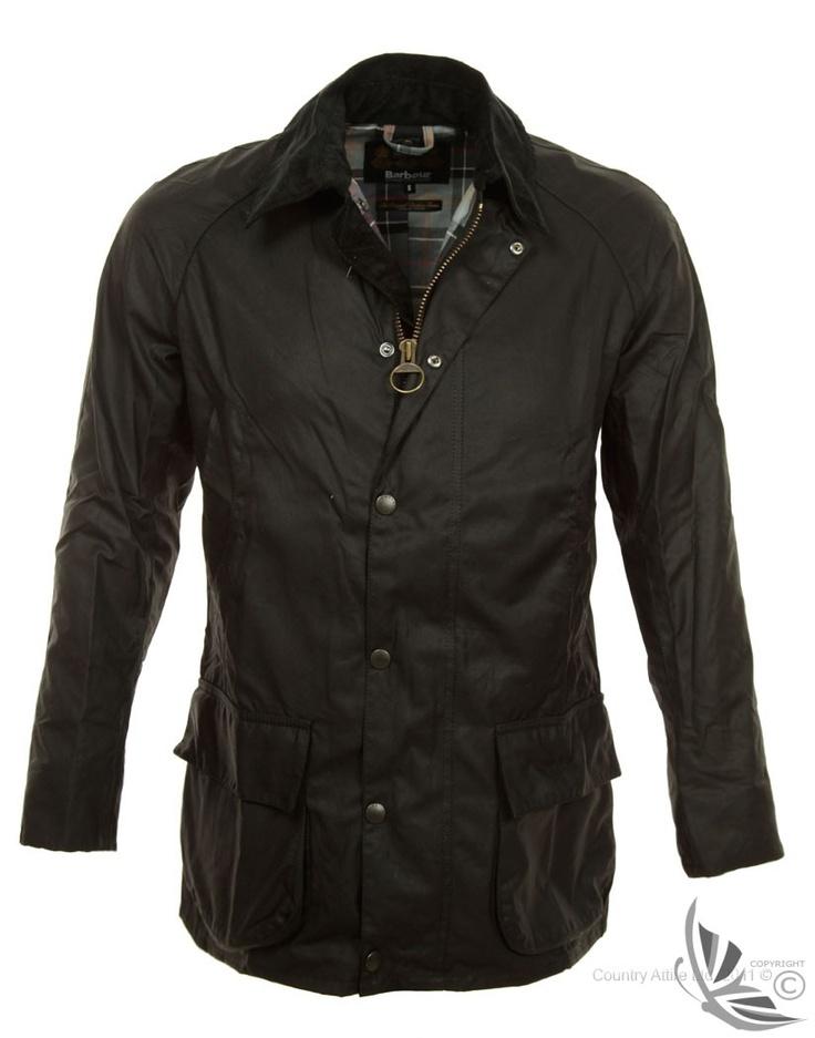 Barbour Men's Bristol Wax Jacket - Black MWX0086BK71