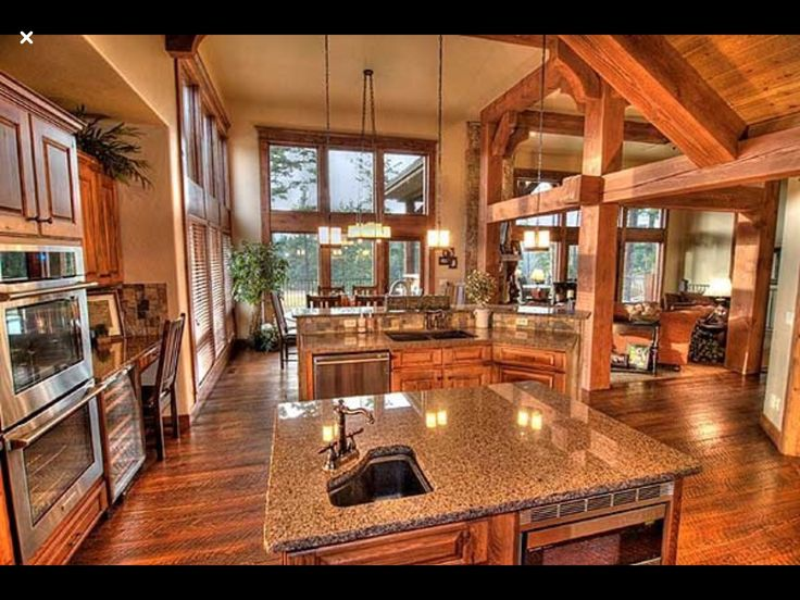 74 best lake house kitchen ideas images on pinterest for Lake house kitchen designs