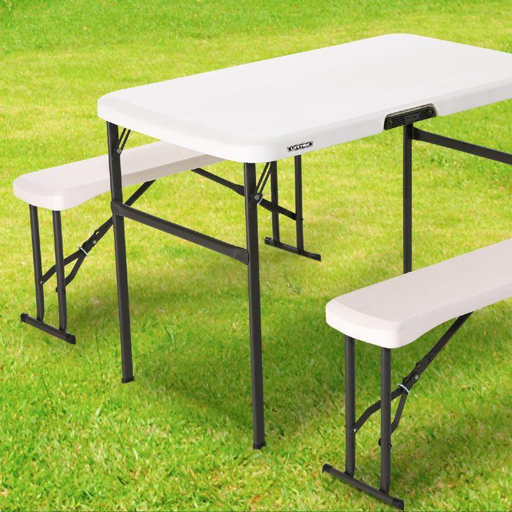En estas vacaciones, no puede faltar una mesa plegable para llevar a cualquier lugar. #easytienda #Vacaciones #Easy