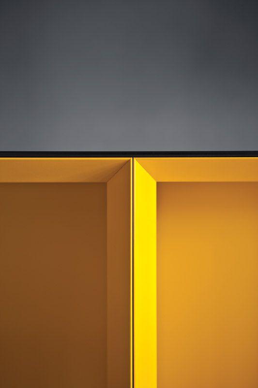 color detail - cabinet leaf detail