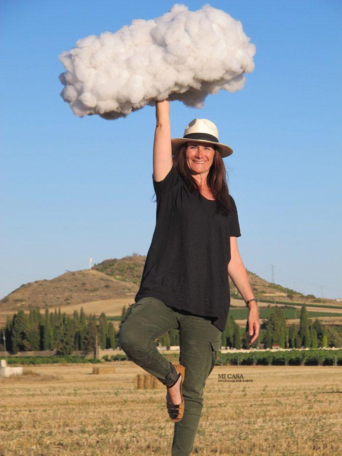 Diy c mo hacer una nube para sesiones de fotos how to - Como hacer una nube ...