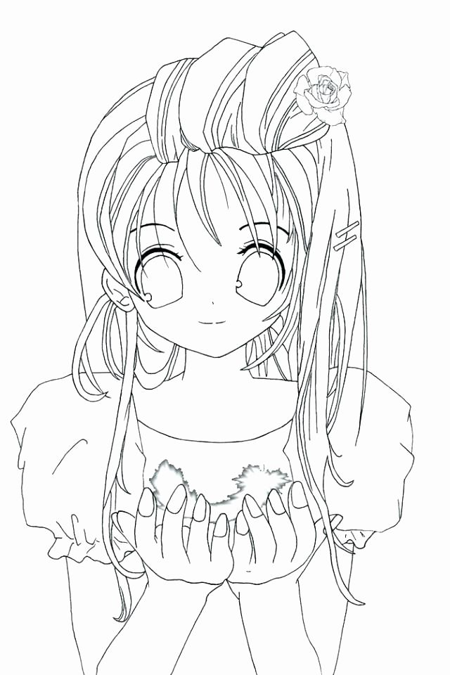 Free Printable Anime Coloring Pages Fresh Japanese Anime Coloring Pages At Getdrawings Angel Coloring Pages Princess Coloring Pages Cute Anime Cat