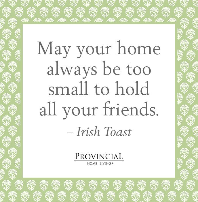 An irish toast cute for a house warming card quotes What is house warming
